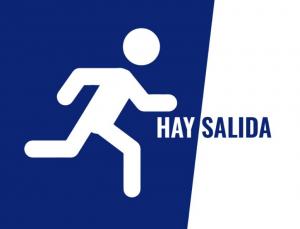 """logo Asociación Cántabra """"Hay Salida"""""""
