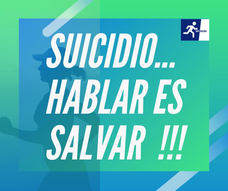 suicidio hablar es salvar